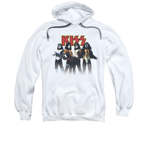Image for Kiss Hoodie - Throwback Pose