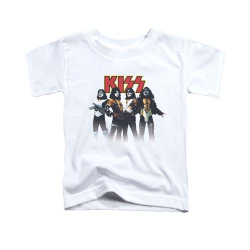 Image for Kiss Toddler T-Shirt - Throwback Pose