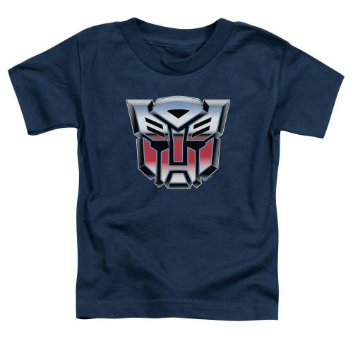 Image for Transformers Toddler T-Shirt - Autobrush Airbrush Logo