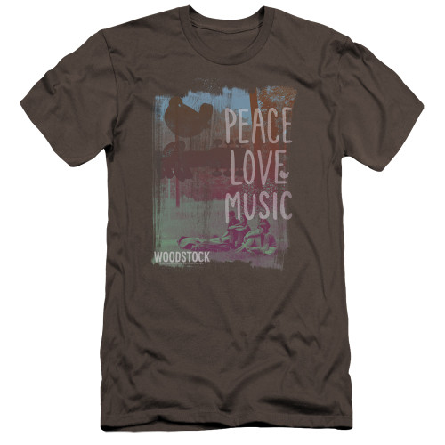 Image for Woodstock Premium Canvas Premium Shirt - PLM
