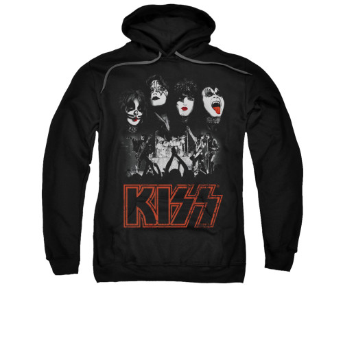 Image for Kiss Hoodie - Rock the House