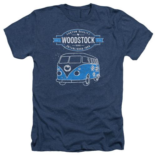 Image for Woodstock Heather T-Shirt - Van