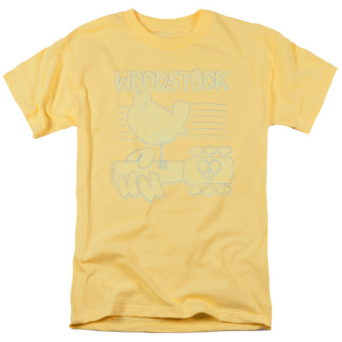 Image for Woodstock T-Shirt - Liney Logo