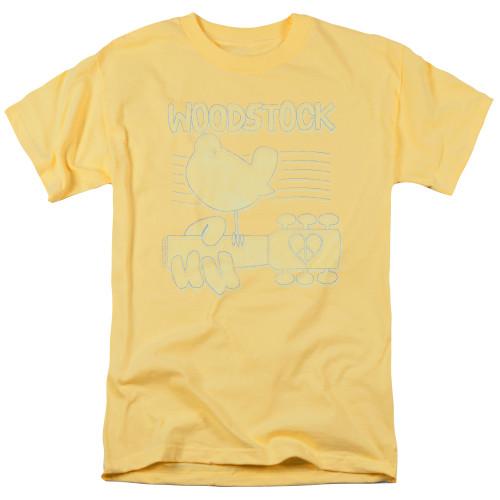 Image for Woodstock T-Shirt - Liney Logo