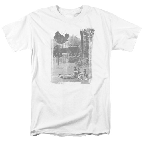 Image for Woodstock T-Shirt - Hippies in a Field