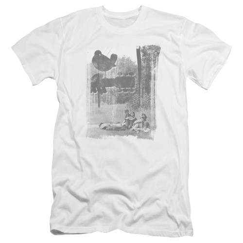 Image for Woodstock Premium Canvas Premium Shirt - Hippies in a Field