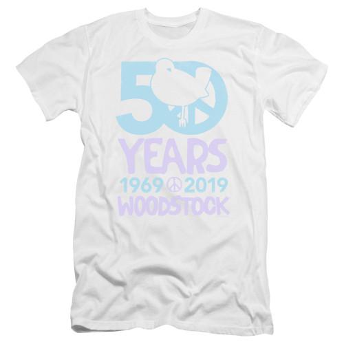Image for Woodstock Premium Canvas Premium Shirt - 50th Anniversary Simple
