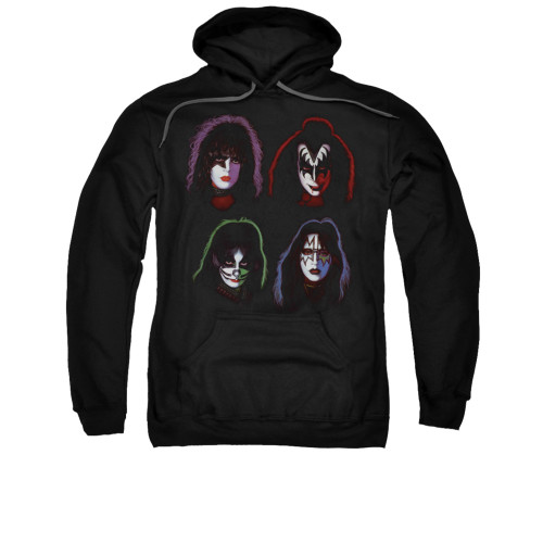 Image for Kiss Hoodie - Solo Heads