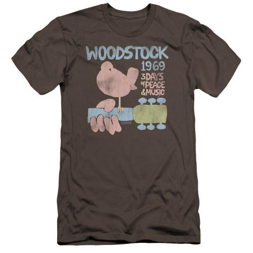 Image for Woodstock Premium Canvas Premium Shirt - 50 Years Dove
