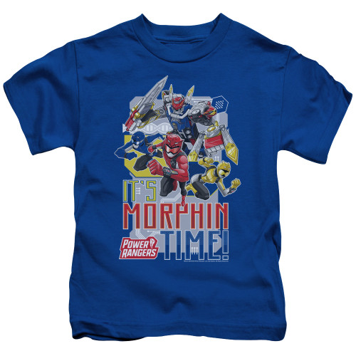 Image for Power Rangers Kids T-Shirt - Beast Morphers Morphin Time