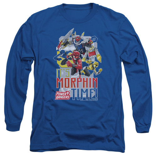 Image for Power Rangers Long Sleeve T-Shirt - Beast Morphers Morphin Time