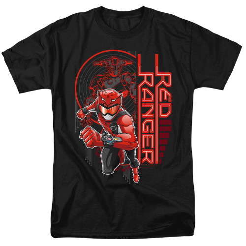 Image for Power Rangers T-Shirt - Beast Morphers Red Ranger