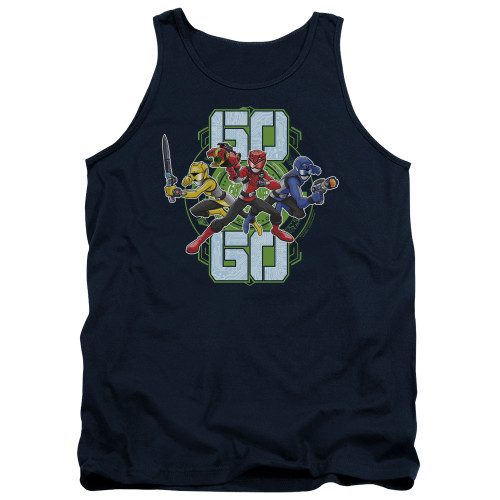 Image for Power Rangers Tank Top - Beast Morphers Go Go