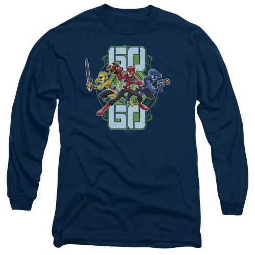 Image for Power Rangers Long Sleeve T-Shirt - Beast Morphers Go Go