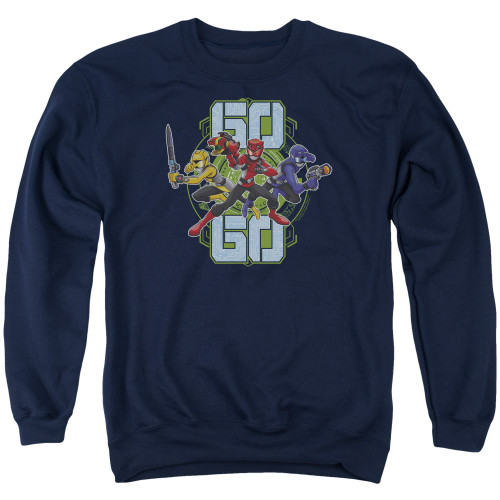 Image for Mighty Morphin Power Rangers Crewneck - Beast Morphers Go Go