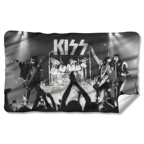 Image for Kiss Fleece Blanket - Staged