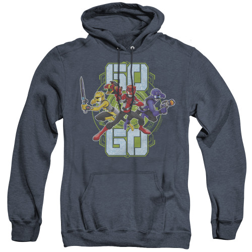 Image for Power Rangers Heather Hoodie - Beast Morphers Go Go
