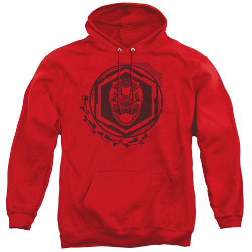 Image for Power Rangers Hoodie - Beast Morphers Red Ranger Icon