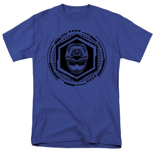 Image for Power Rangers T-Shirt - Beast Morphers Blue Ranger Icon