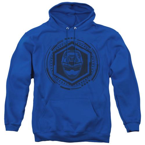 Image for Power Rangers Hoodie - Beast Morphers Blue Ranger Icon