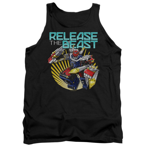 Image for Power Rangers Tank Top - Beast Morphers Breast Release