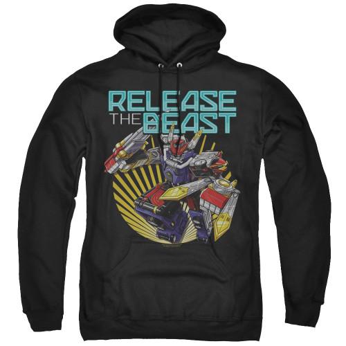 Image for Power Rangers Hoodie - Beast Morphers Breast Release