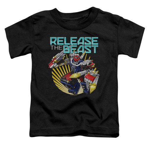 Image for Power Rangers Toddler T-Shirt - Beast Morphers Breast Release