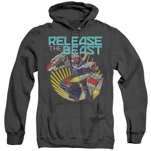 Image for Power Rangers Heather Hoodie - Beast Morphers Breast Release