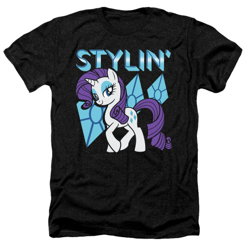 Image for My Little Pony Heather T-Shirt - Friendship is Magic Stylin'