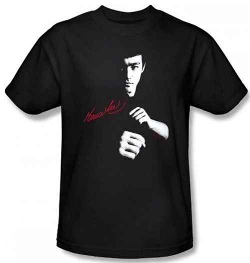 Image for Bruce Lee T-Shirt - The Dragon Awaits