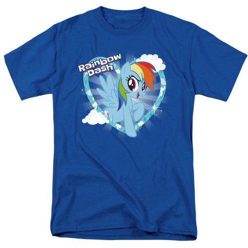 Image for My Little Pony T-Shirt - Friendship is Magic Rainbow Dash