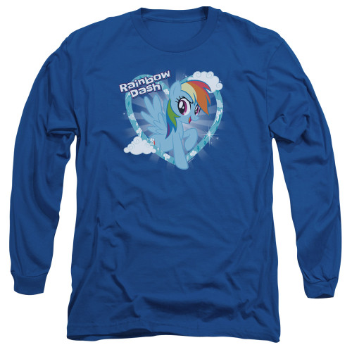 Image for My Little Pony Long Sleeve T-Shirt - Friendship is Magic Rainbow Dash