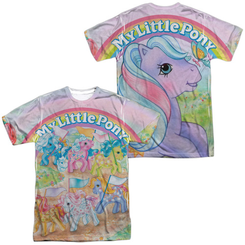 Image for My Little Pony Sublimated T-Shirt - Classic Ponies  100% Polyester
