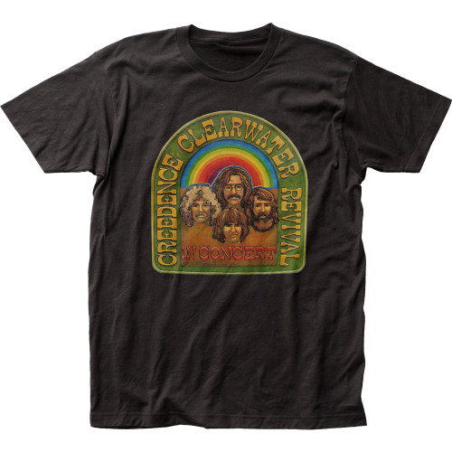 Image for Creedence Clearwater Revival In Concert T-Shirt