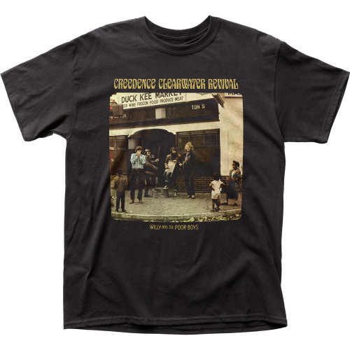 Image for Creedence Clearwater Revival Poor Boys T-Shirt