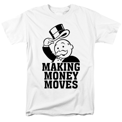 Image for Monopoly T-Shirt - Money Moves
