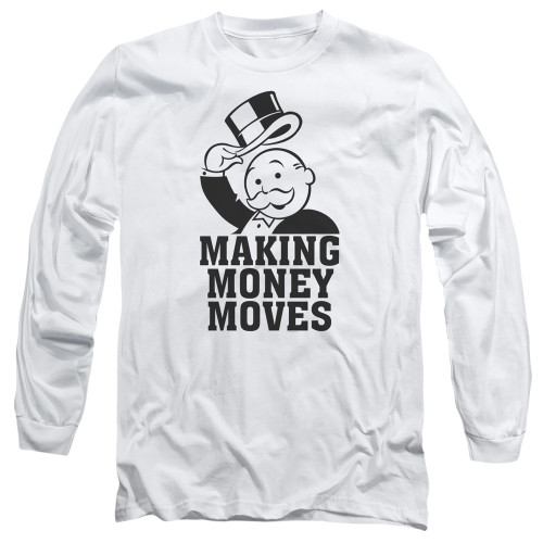 Image for Monopoly Long Sleeve T-Shirt - Money Moves