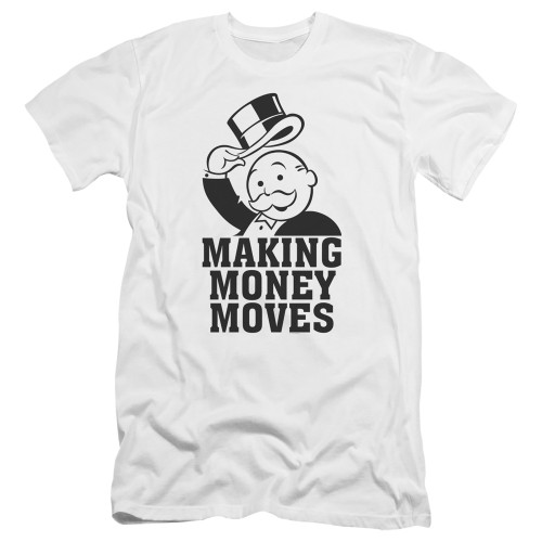 Image for Monopoly Premium Canvas Premium Shirt - Money Moves