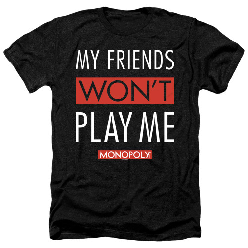 Image for Monopoly Heather T-Shirt - My Friends
