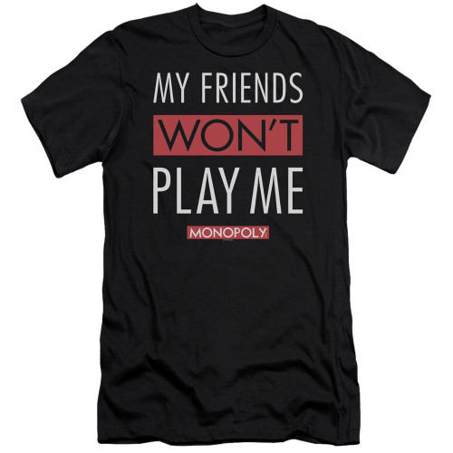 Image for Monopoly Premium Canvas Premium Shirt - My Friends