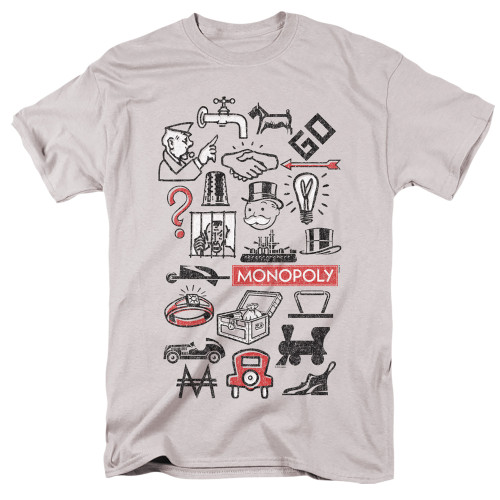 Image for Monopoly T-Shirt - Icons