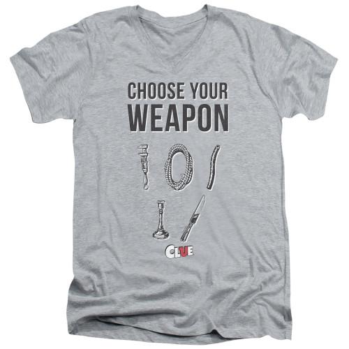 Image for Clue T-Shirt - V Neck - Choose
