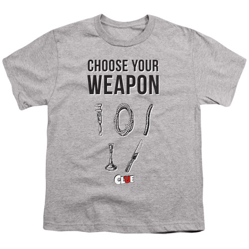 Image for Clue Youth T-Shirt - Choose