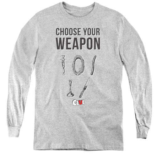 Image for Clue Youth Long Sleeve T-Shirt - Choose