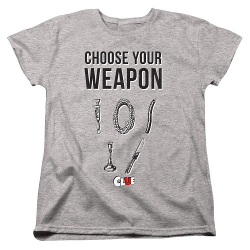 Image for Clue Woman's T-Shirt - Choose