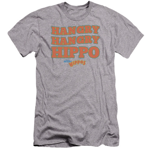 Image for Hungry Hungry Hippos Premium Canvas Premium Shirt - Hangry