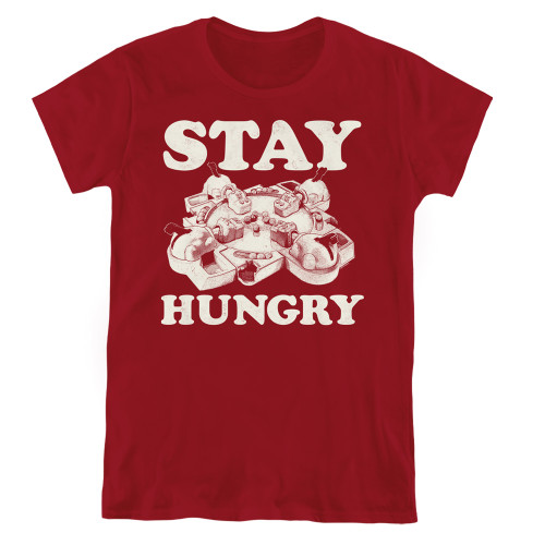 Image for Hungry Hungry Hippos Woman's T-Shirt - Stay Hungry