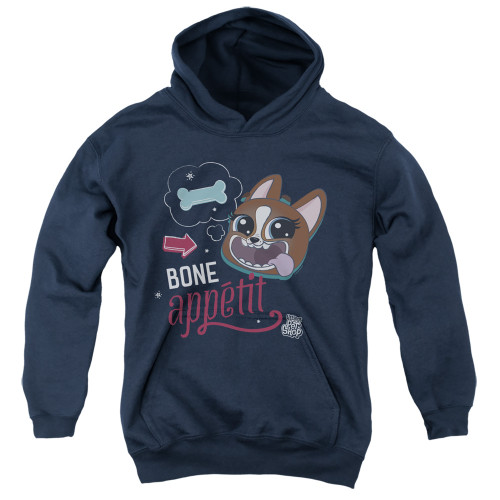 Image for Littlest Pet Shop Youth Hoodie - Bone Appetit