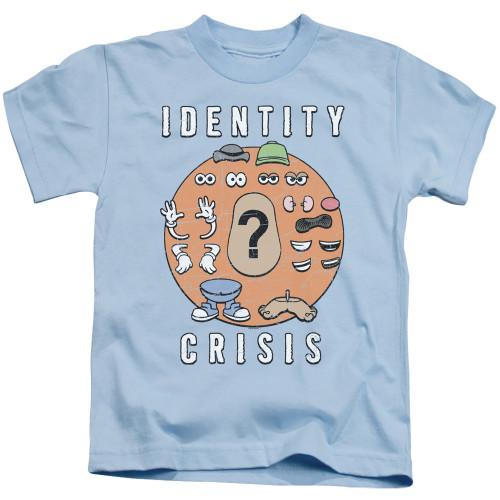 Image for Mr. Potato Head Kids T-Shirt - Identity Crisis