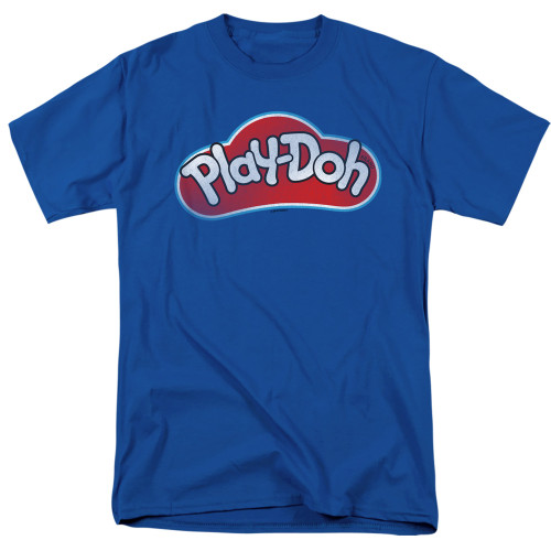Image for Play Doh T-Shirt - Blue Lid